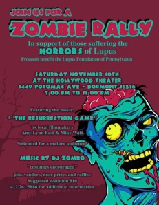 zombie rally lupus foundation pittsburgh